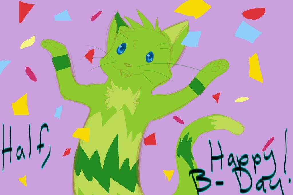 Happy Birthday Half :D Happyb10