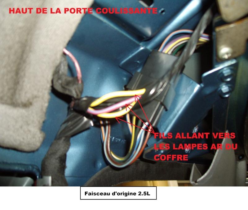 Installation ordinateur de bord sur 2.5L essence  Faisce10
