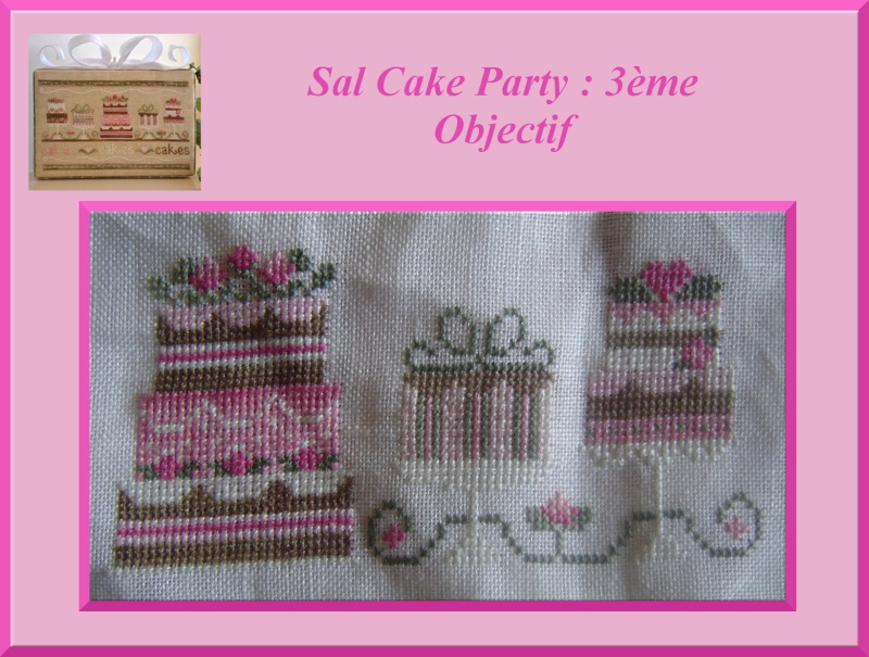3e objectif du SAL Cake Party Cakepa14