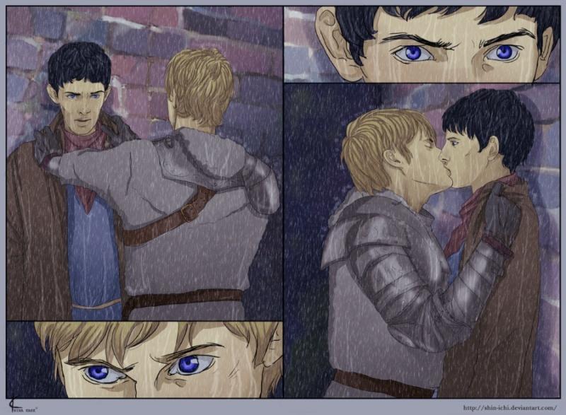 Merlin-Sans Titre-Merlin/Arthur-G Tumblr10
