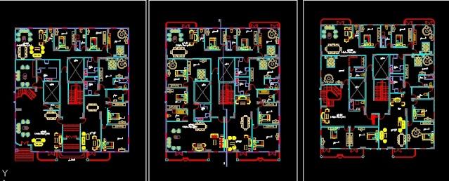 لوحة معمارى نهائى لجميع ما يوضع فى المعمارى من فرش ....وغيره Screen10