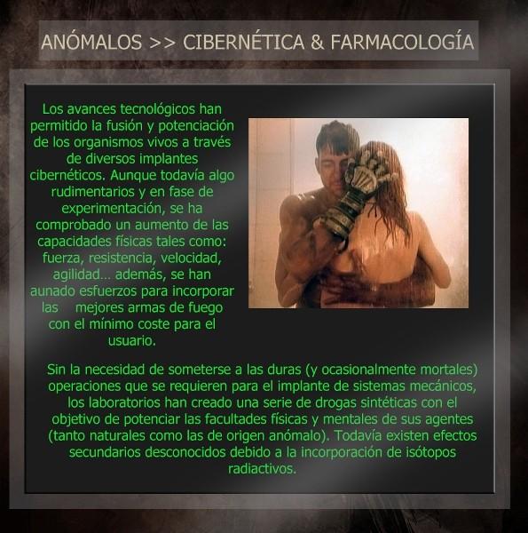 Anómalos: personas con habilidades sobrenaturales Ciber12