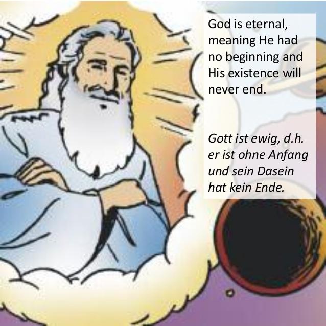 Wer hat Gott erschaffen ? Gott-i10