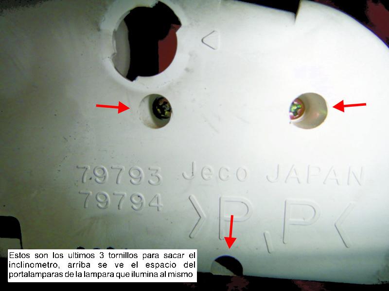 Tutorial desarme de tablero 1210
