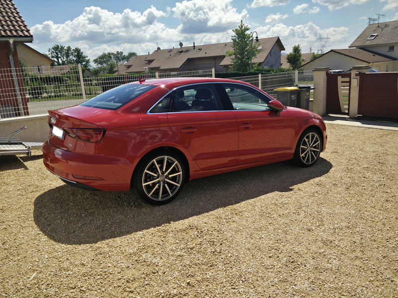 Audi A3 Facelift Berline Latera10