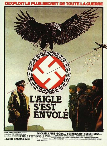L'aigle s'est envolé - The Eagle Has Landed - 1976 - John Sturges Affich10