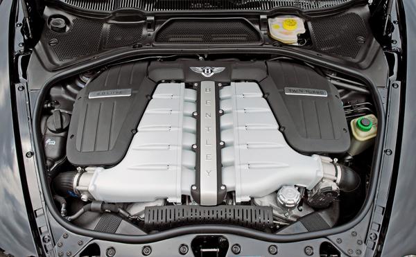 Bentley Arnage  W12-be10