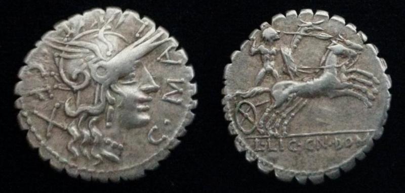Denier république romaine incus 20160510