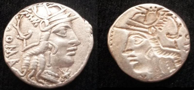 Denier république romaine incus 20160612