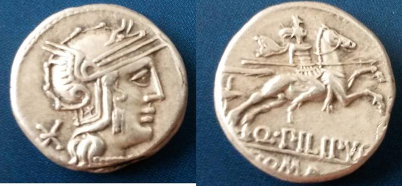 Denier république romaine incus Kk10