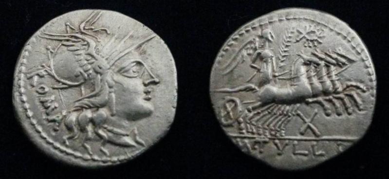 Denier république romaine incus Me10