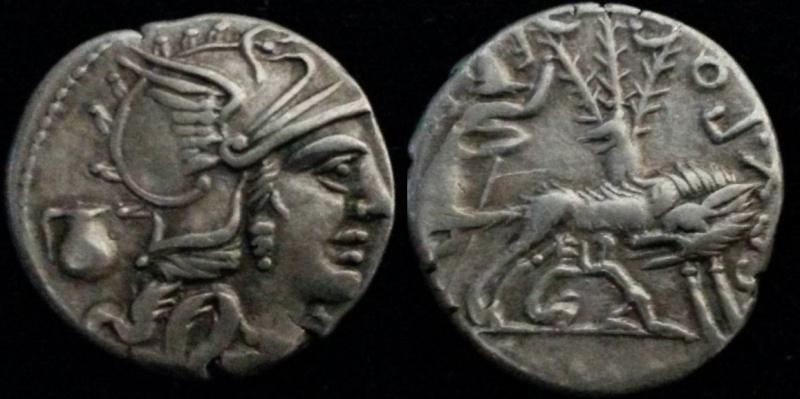 Denier république romaine incus Sex_po11