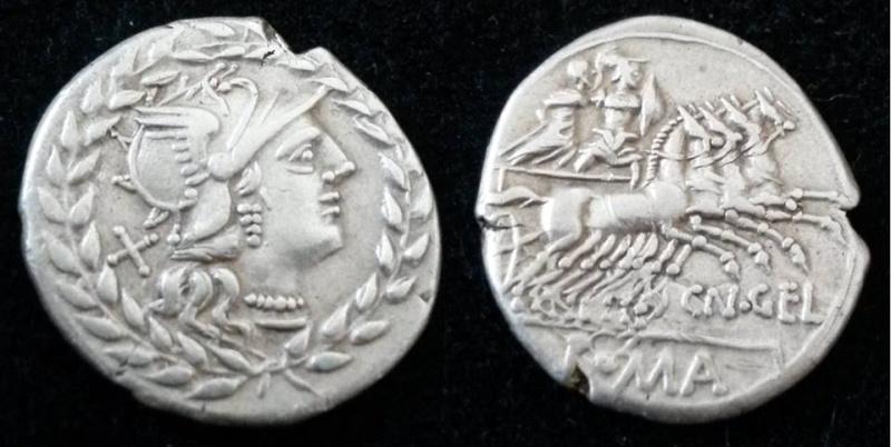 Denier république romaine incus T10