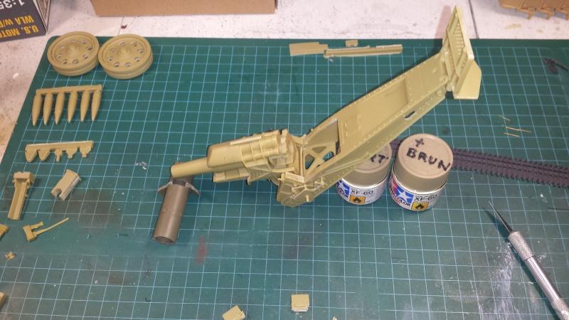 Mortier, 21 cm (Verlinden, 1/35): Début de mon nouveau projet!!! - Page 2 20160714