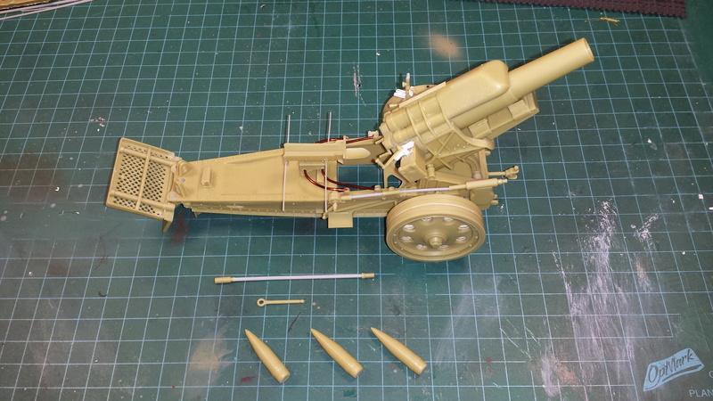 Mortier, 21 cm (Verlinden, 1/35): Début de mon nouveau projet!!! - Page 2 20160811