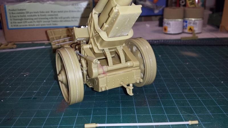 Mortier, 21 cm (Verlinden, 1/35): Début de mon nouveau projet!!! - Page 2 20160812