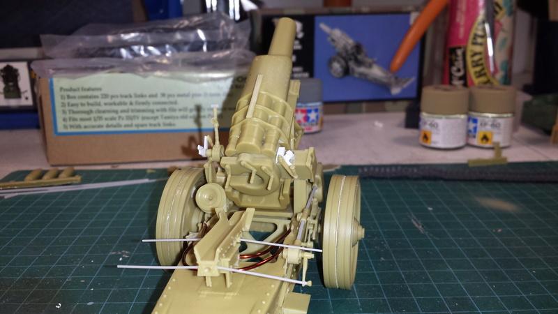 Mortier, 21 cm (Verlinden, 1/35): Début de mon nouveau projet!!! - Page 2 20160813