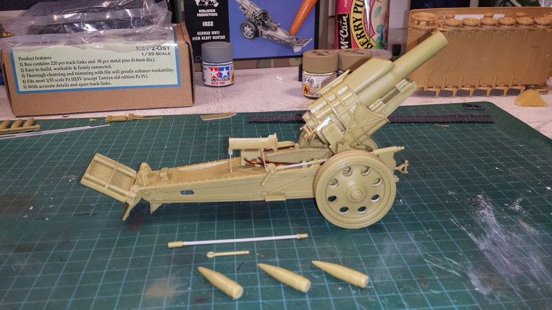Mortier, 21 cm (Verlinden, 1/35): Début de mon nouveau projet!!! - Page 2 20160814