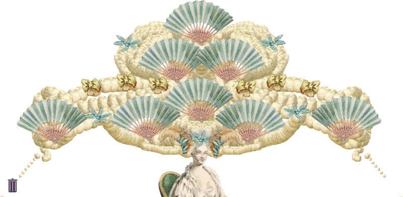 Amusement : Création d'une perruque à la mode du XVIIIè siècle - Page 2 Jeu_010