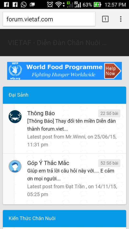 [Hỏi đáp] Mất menu truy cập nhanh ở giao diện mobile mới 14673510