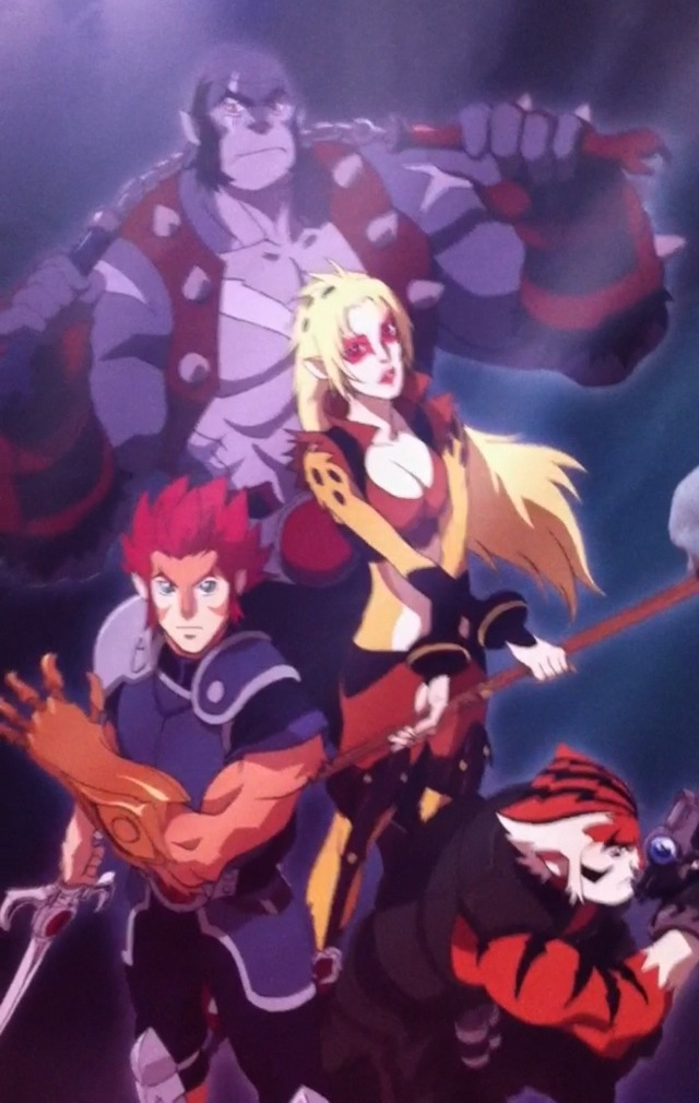 Bandai revela los diseños del anime basado en Thundercats Ieaaqg10