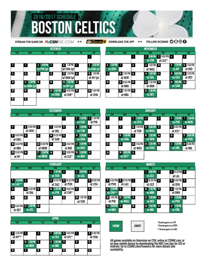 Massif image for celtics printable schedule