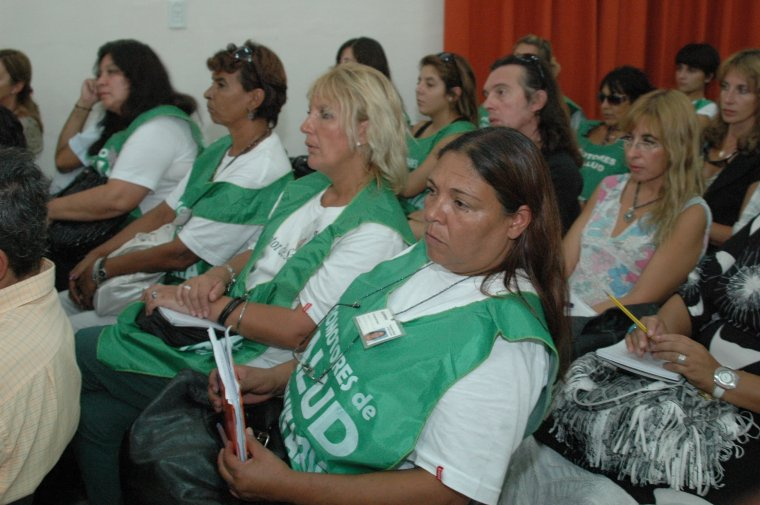 Sumaron nuevos promotores comunitarios de la salud en Villarino 001125