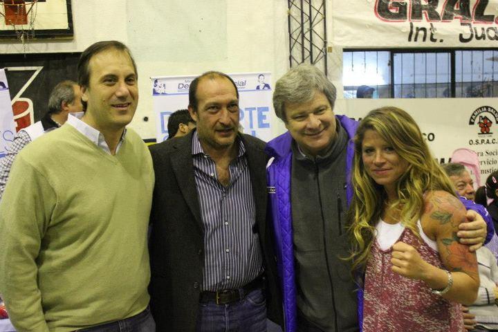 Festival de boxeo amateur en el club Leandro N. Alem de General Rodríguez 001131