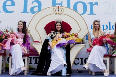 La Fiesta Nacional de la Flor tiene nueva reina 001168
