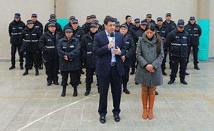 Vicente López: Jorge Macri presentó a su fuerza de Guardianes de calle. 00122