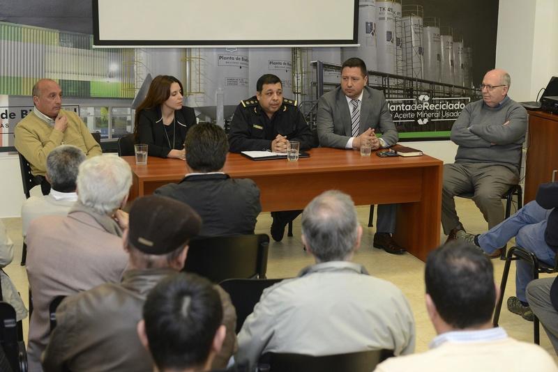 SEGURIDAD - Malvinas Argentinas: Continuan las reuniones de seguridad. _pma9910