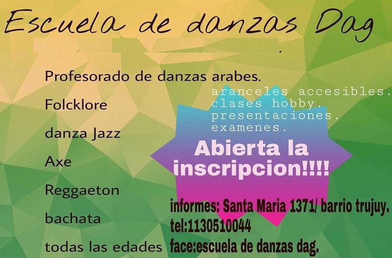 En San Miguel, Escuela D.A.G., la escuela. Aviso_50