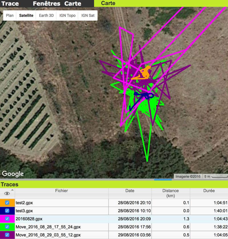 Comparaison de GPS Captur11