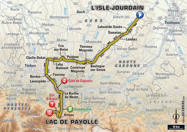 LE TOUR 2016 -- CLTS COMPLETS ETAPE PAR ETAPE 7_110