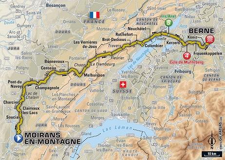 LE TOUR 2016 -- CLTS COMPLETS ETAPE PAR ETAPE Carte12