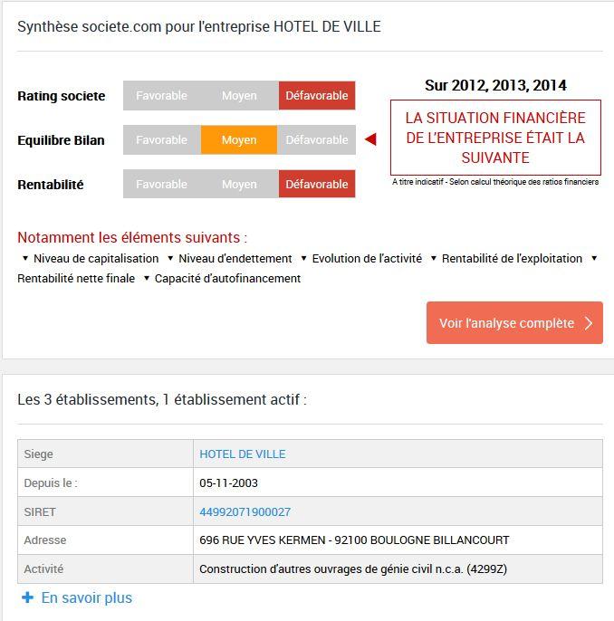 Informations sur la SAEM / SPL Clipb127