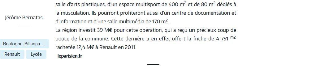 Informations sur le lycée du trapèze Clipb134