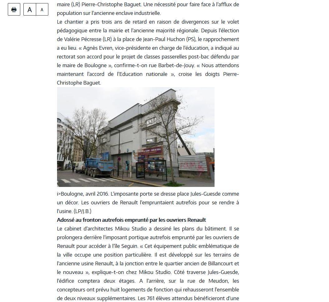 Informations sur le lycée du trapèze Clipb136