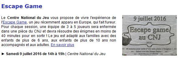 Centre Ludique de Boulogne-Billancourt (CLuBB) - Page 3 Clipb148