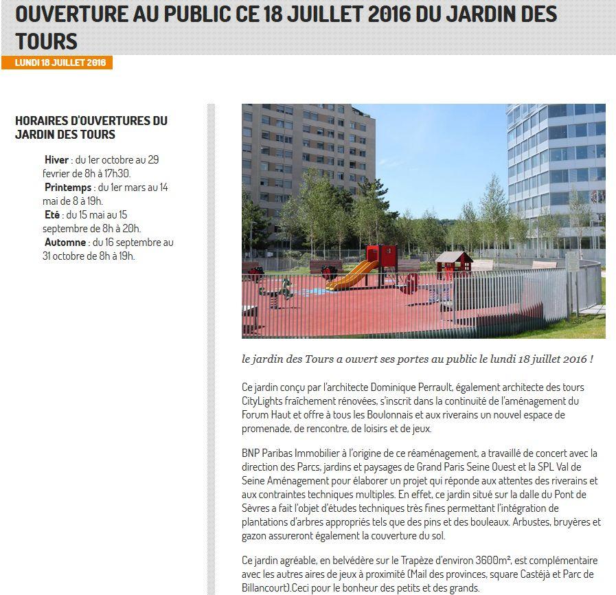 Jardin des Tours Clipb214