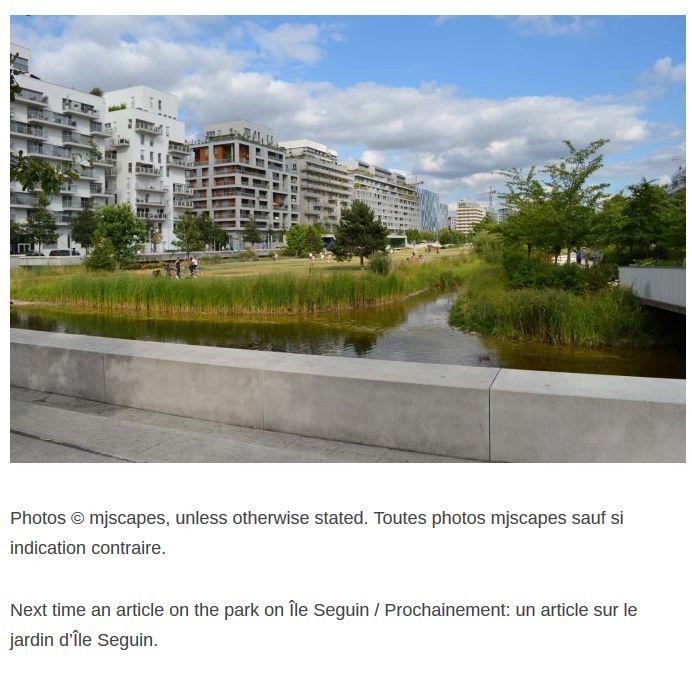 Articles de presse / de sites Internet sur la ZAC Seguin - Rives de Seine Clipb276