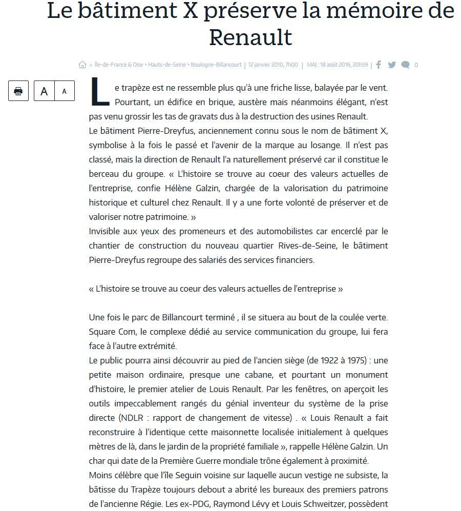 Histoire Renault Boulogne-Billancourt Clipb323