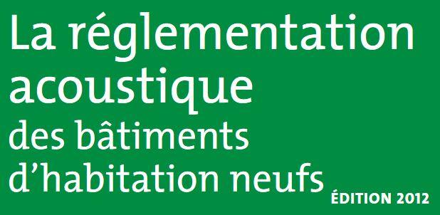 Réglementation acoustique / phonique Clipb334