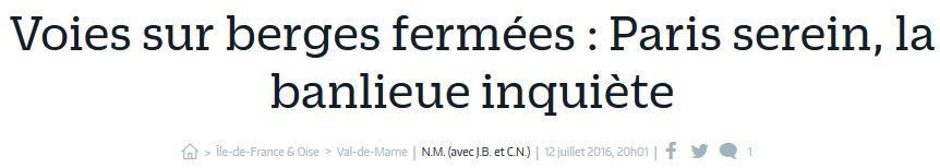 Aménagement et usages des voies sur berges à Paris Clipb340