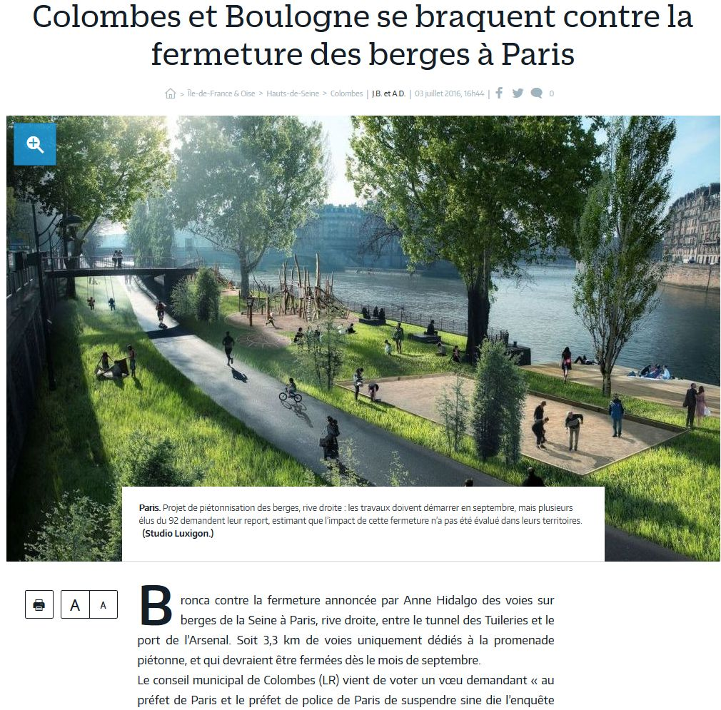 Aménagement et usages des voies sur berges à Paris Clipb343