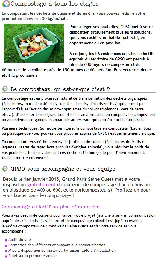 Gestion des déchets verts dans le quartier - Compost - Compostage Clipbo16