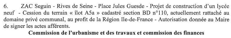 Informations sur le lycée du trapèze Clipbo35