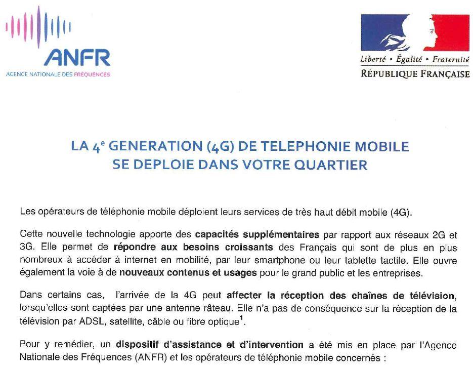 Couverture téléphonie mobile Clipbo43