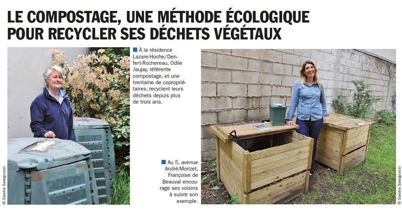 Gestion des déchets verts dans le quartier - Compost - Compostage Clipbo70