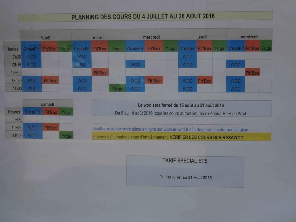 Salle de sport Le Wod - CrossFit Le Trapèze Dsc00034